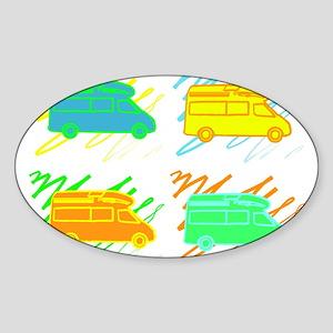 3-colorvans copy Sticker