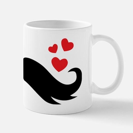 I heart moustache Mug