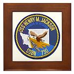 USS HENRY M. JACKSON Framed Tile