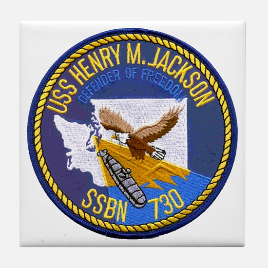 USS HENRY M. JACKSON Tile Coaster