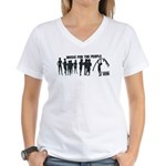 MFTP Women's V-Neck T-Shirt
