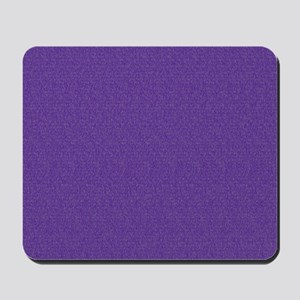 Solid Purple Glimmer Mousepad