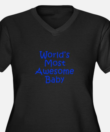 World s Most Awesome Baby-Kri blue 300 Plus Size T