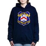 USS HOEL Women's Hooded Sweatshirt