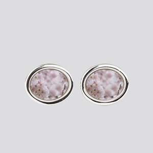 Soft Puffs Oval Cufflinks