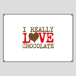 Love Chocolate Banner