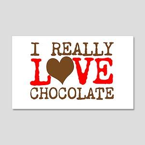 Love Chocolate Wall Decal