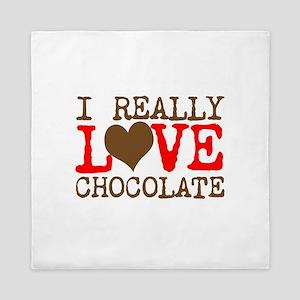 Love Chocolate Queen Duvet