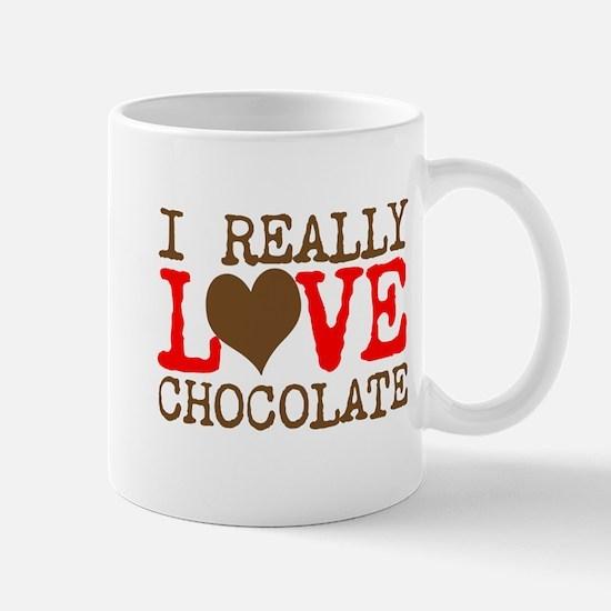 Love Chocolate Mugs