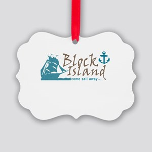 Block Island Sail Away Ornament