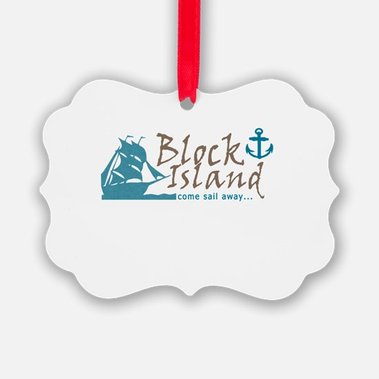 Block Island Sail Away Ornament