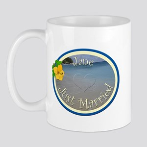 Jane Just Married Mug