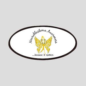 Neuroblastoma Butterfly 6.1 Patch