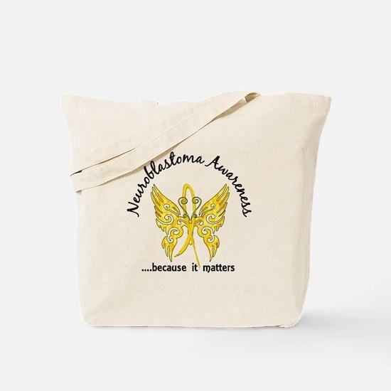 Neuroblastoma Butterfly 6.1 Tote Bag