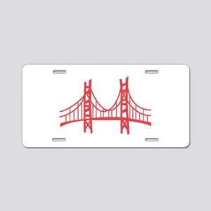 Golden Gate Aluminum License Plate