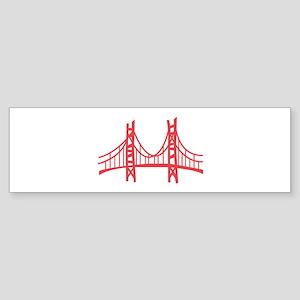 Golden Gate Bumper Sticker