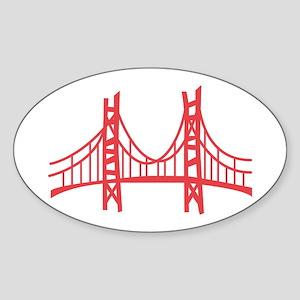 Golden Gate Sticker