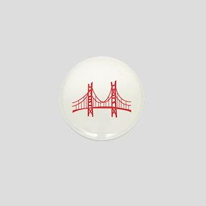 Golden Gate Mini Button