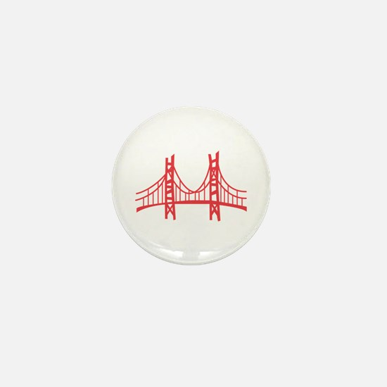 Golden Gate Mini Button