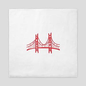 Golden Gate Queen Duvet