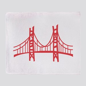 Golden Gate Throw Blanket