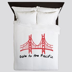 Gate To Pacific Queen Duvet