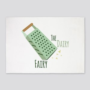 The Dairy Fairy 5'x7'Area Rug