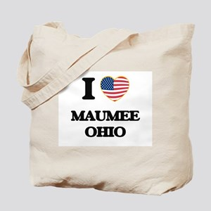 I love Maumee Ohio Tote Bag