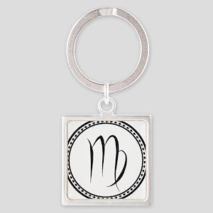 Virgo Symbol Keychains