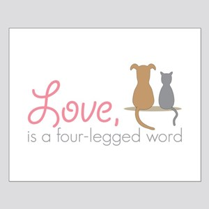 Four Legged Word Posters