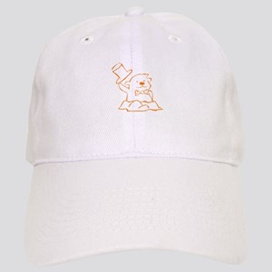 Groundhog Outline Baseball Cap