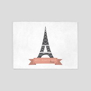 Always Have Paris 5'x7'Area Rug