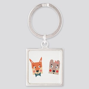 Foxes Keychains