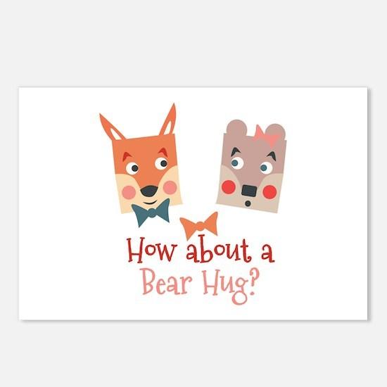 A Bear Hug Postcards (Package of 8)