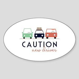 Caution New Driver Sticker