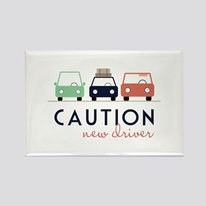 Caution New Driver Magnets