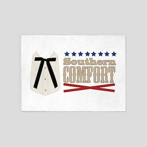 Kentucky Colonel Tie Southern Comfort 5'x7'Area Ru