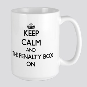 Keep Calm and The Penalty Box ON Mugs