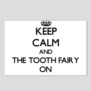 Keep Calm and The Tooth F Postcards (Package of 8)