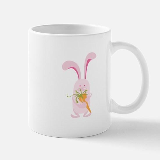 Pink Bunny Mugs