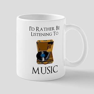 Rather Be Listening Mugs