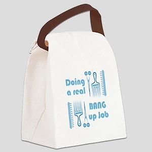 Bang Up Job Canvas Lunch Bag