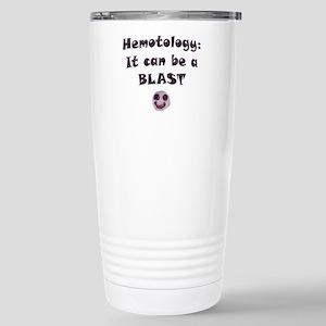 Hematology's a BLAST! Stainless Steel Travel Mug