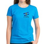 Move it Here to pick up my Daddy Women's Dark T-S