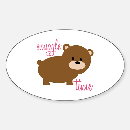 Snuggle Time Decal