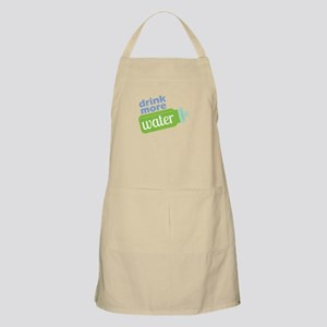 Drink More Water Apron