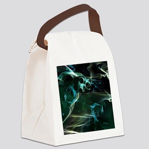 The galaxy in flame Canvas Lunch Bag