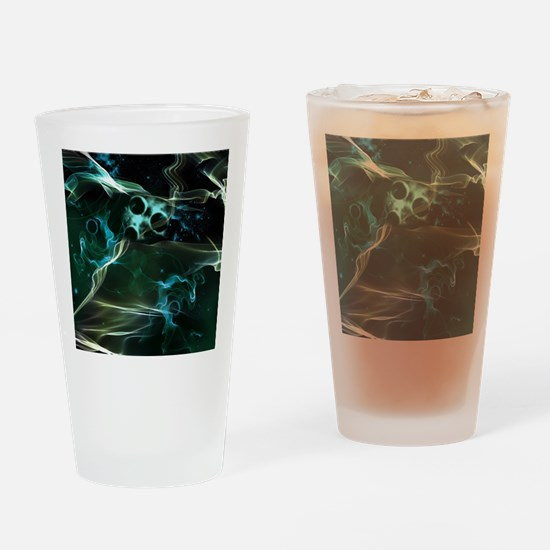 The galaxy in flame Drinking Glass