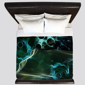 The galaxy in flame King Duvet