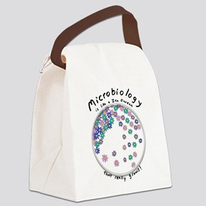 Microbiology is a Zen Garden Canvas Lunch Bag